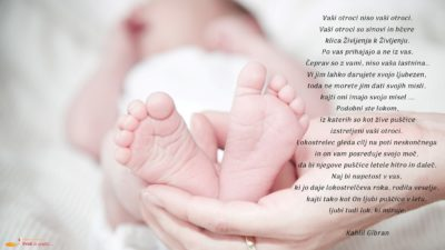 Praznik Gospodovega Oznanjenja – materinski dan