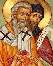 Ciril in Metod, slovanska apostola, sozavetnika Evrope